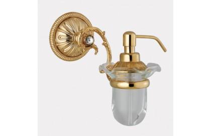 Дозатор для мыла настенный, стекло EL821D (Andrea)