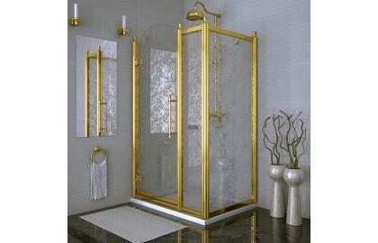 Душевое ограждение «120 Лоренцо Великолепный» Gold