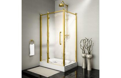 Душевое ограждение «120 Лоренцо Великолепный» Gold New