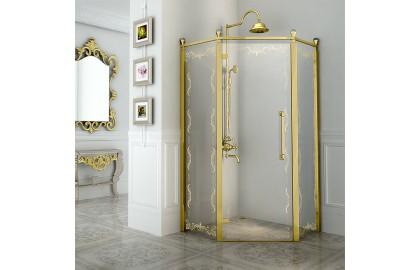 Душевое ограждение «Палаццо» Gold New