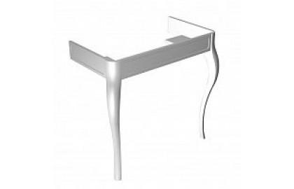 Набор лакированных ножек для подвесной раковины из дерева белый  Imagine N877000001