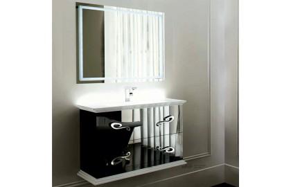 Мебель для ванной La Beaute Loiret 100 черная