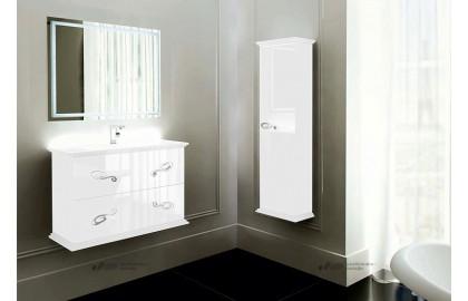 Мебель для ванной La Beaute Loiret 100 белая