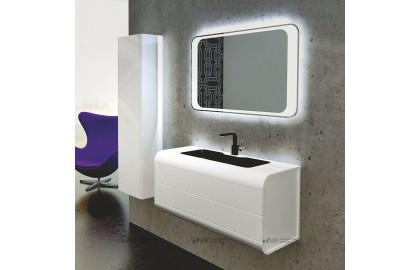 Мебель для ванной La Beaute Yonne 100 белая