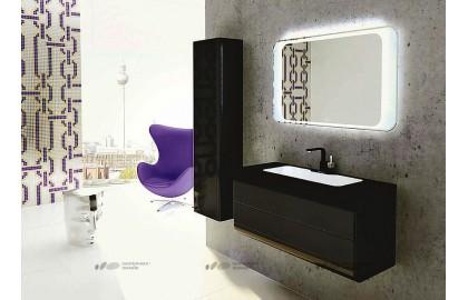 Мебель для ванной La Beaute Yonne 100 черная