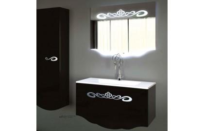 Мебель для ванной La Beaute Cher 100 черная