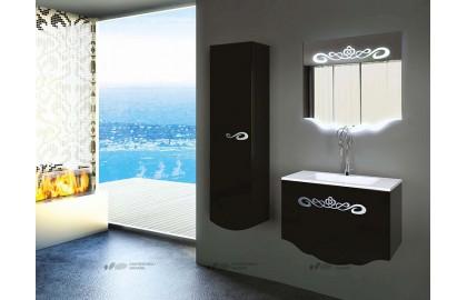 Мебель для ванной La Beaute Cher 85 черная