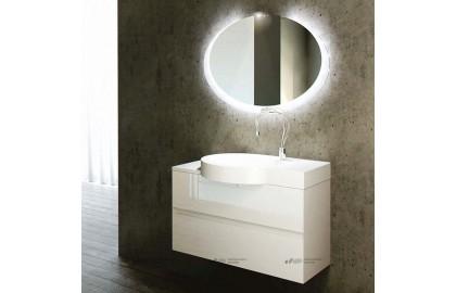 Мебель для ванной La Beaute Allier 100 белая