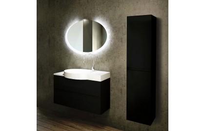 Мебель для ванной La Beaute Allier 100 черная