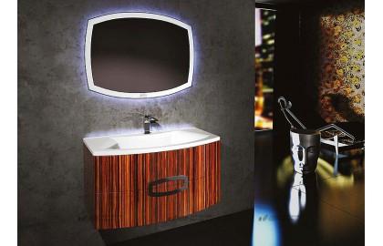 Мебель для ванной La Beaute Marne 90 macassar