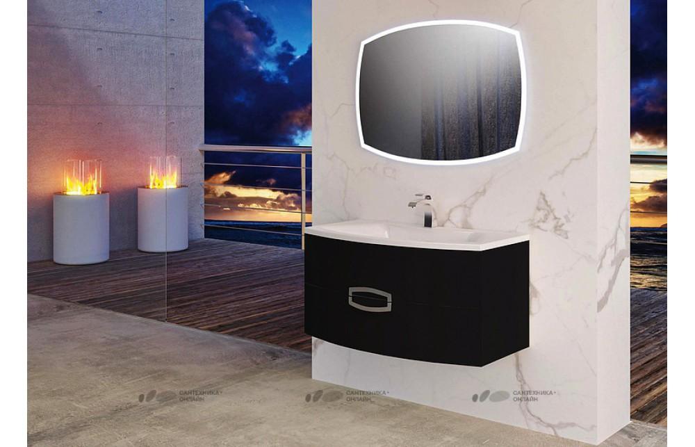 Мебель для ванной La Beaute Marne 90 черная