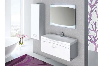 Мебель для ванной La Beaute Somme 100 белая