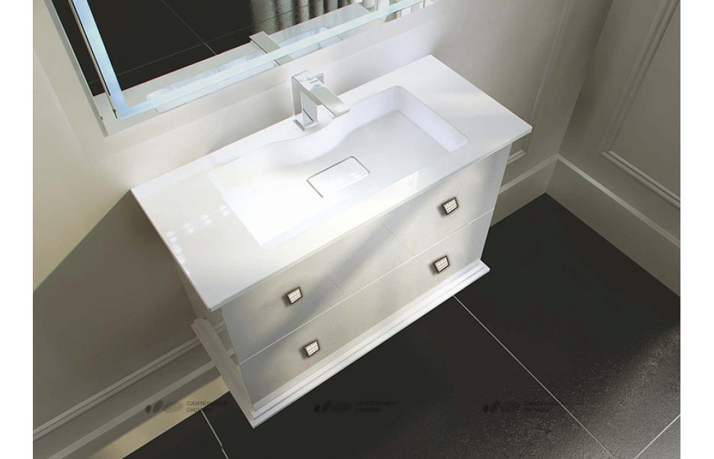 Мебель для ванной La Beaute Loiret SW 100 белая
