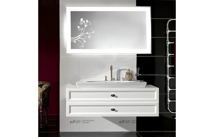 Мебель для ванной Villeroy & Boch La Belle белая, 2 ящика