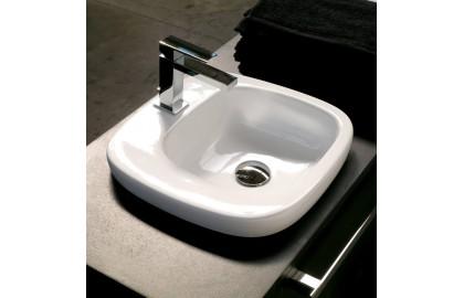 Накладная врезная раковина Hidra Ceramica Dial DL 57