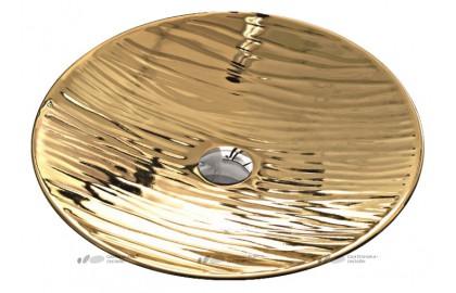 Раковина Hidra Ceramica Soul A24 золото 50