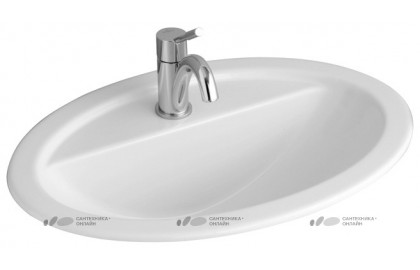 Раковина Villeroy & Boch Loop & Friends 5155 6001 alpin