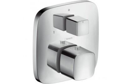 Смеситель для ванны 2 потребителя, хром Hansgrohe PuraVida № 15771000
