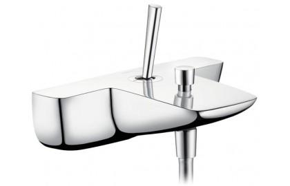 Смеситель для ванны с одним рычагом, 2 потребителя, хром Hansgrohe PuraVida 15472000