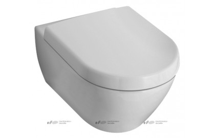 Унитаз подвесной Villeroy & Boch Subway 2.0 Plus 5600 10R1 alpin