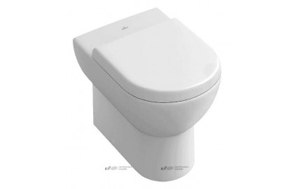 Унитаз приставной Villeroy & Boch Subway Plus 6607 10R1 alpin