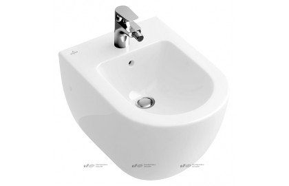 Биде подвесное Villeroy & Boch Subway Plus 7400 00R2 star white