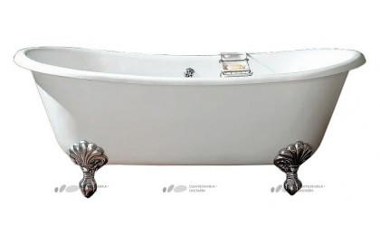Чугунная ванна Devon&Devon Admiral ножки алюминий