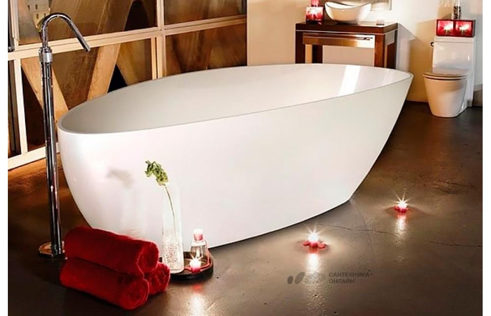 Ванна из искусственного камня Romance Collection Fusion 156x71 L