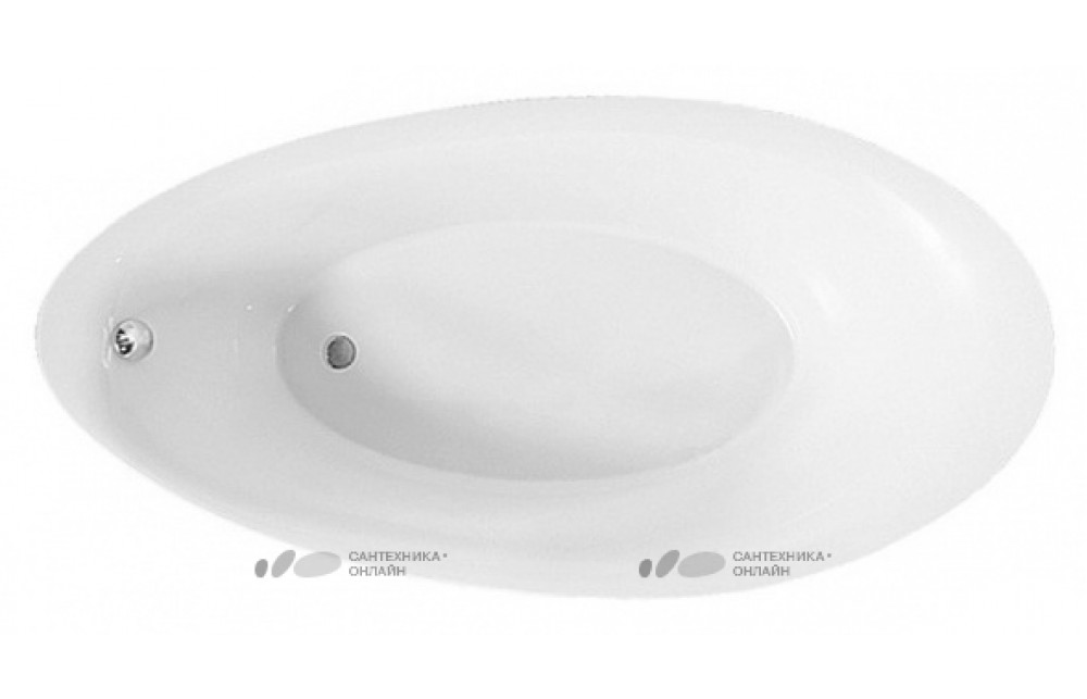Акриловая ванна Villeroy & Boch Aveo new generation UBQ194AVE9T1V-96 star white, бесшовная