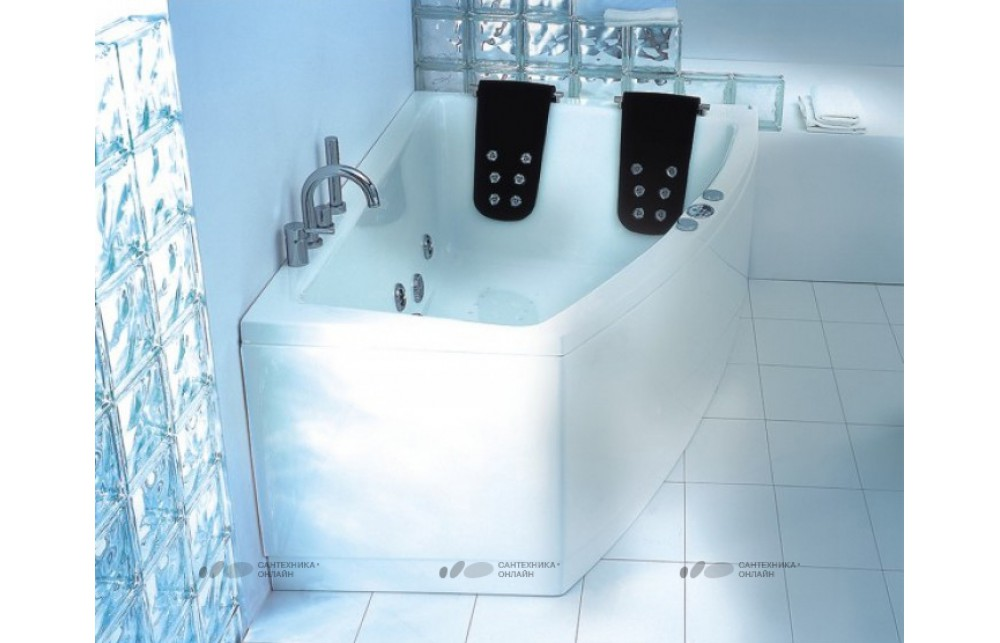 Акриловая ванна Victory Spa Gemini 180 S-3 R