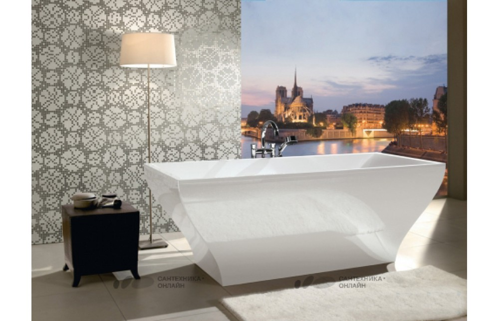 Акриловая ванна Villeroy & Boch La belle UBQ180LAB2PDV-96 starwhite